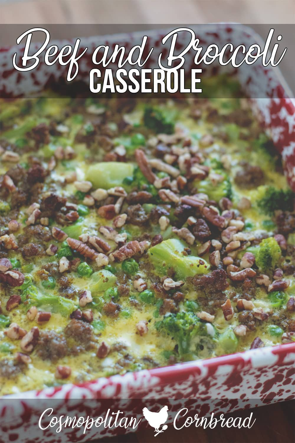 Beef and Broccoli Casserole - Rich, creamy curry and coconut milk give this casserole a lovely, comforting flavor.