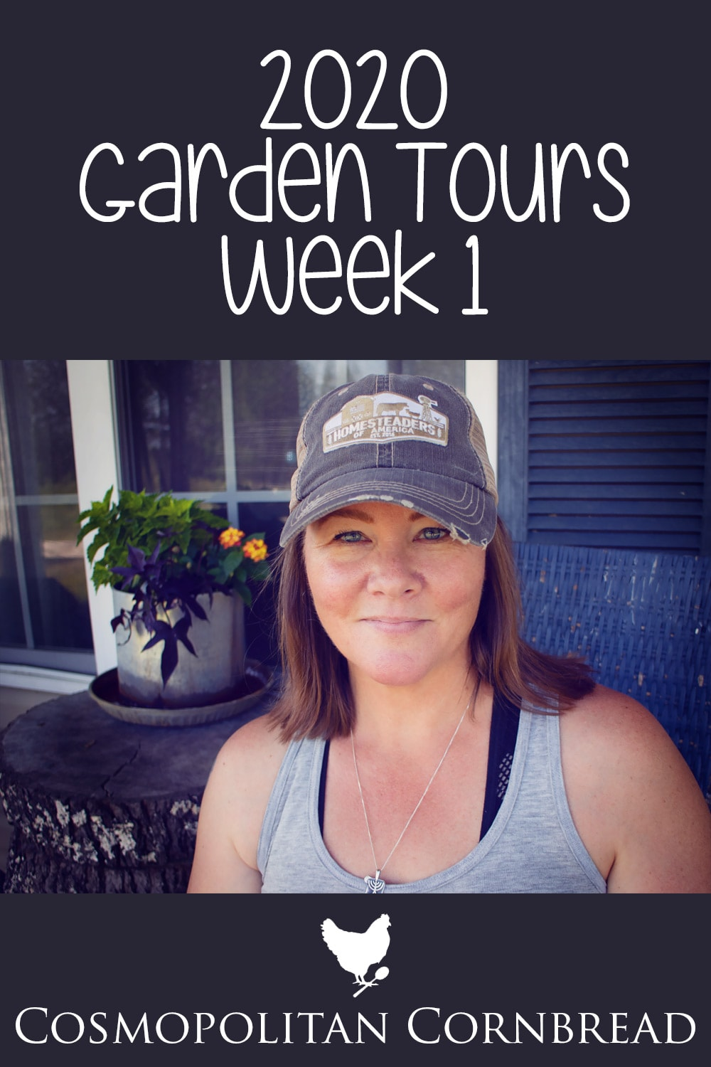 This week, we have been busy planting and getting the 2020 garden started! So you know what that means? Time to begin the weekly garden tours!