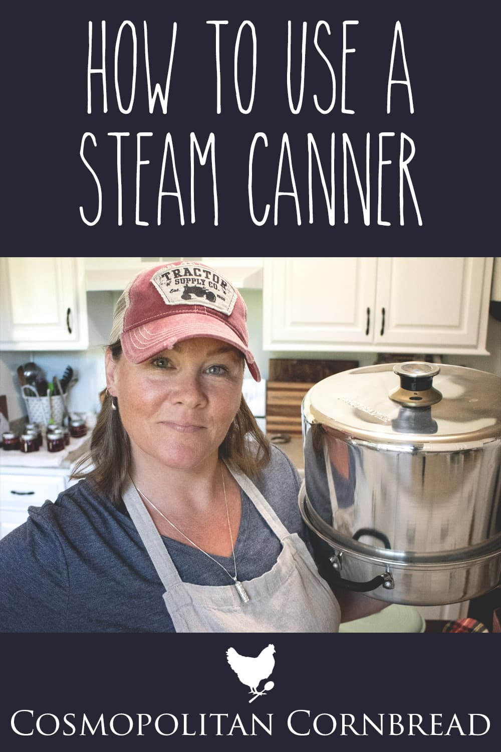 Come into the kitchen with me as I share about using a steam canner and make some of my Strawberry Jalapeno Jam!