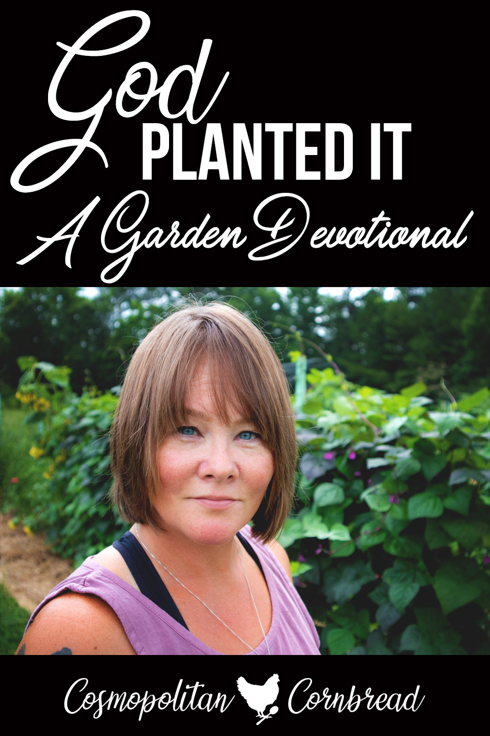 God Planted It - A Garden Devotional | I wasn't planning on doing a devotional...but it just happened. I hope it blesses you!