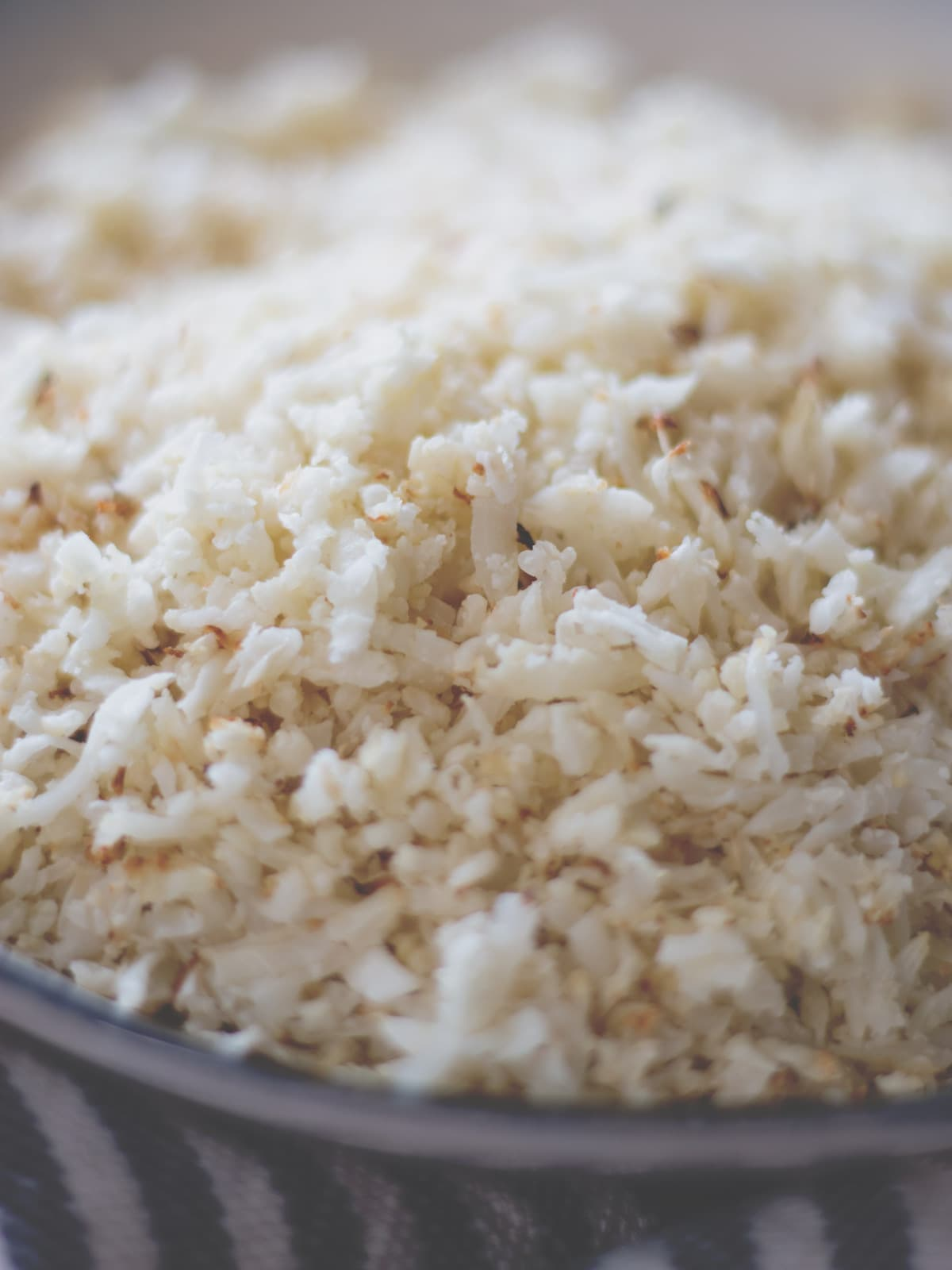 Cauliflower Rice from Cosmopolitan Cornbread