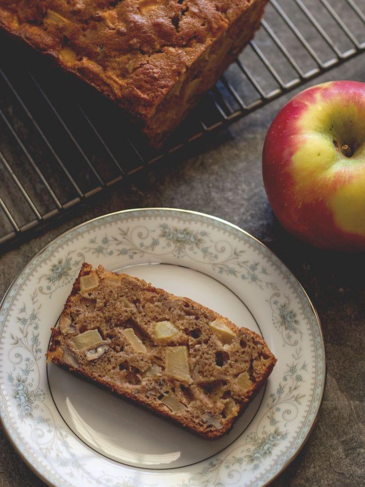 Paleo Apple Pecan Bread