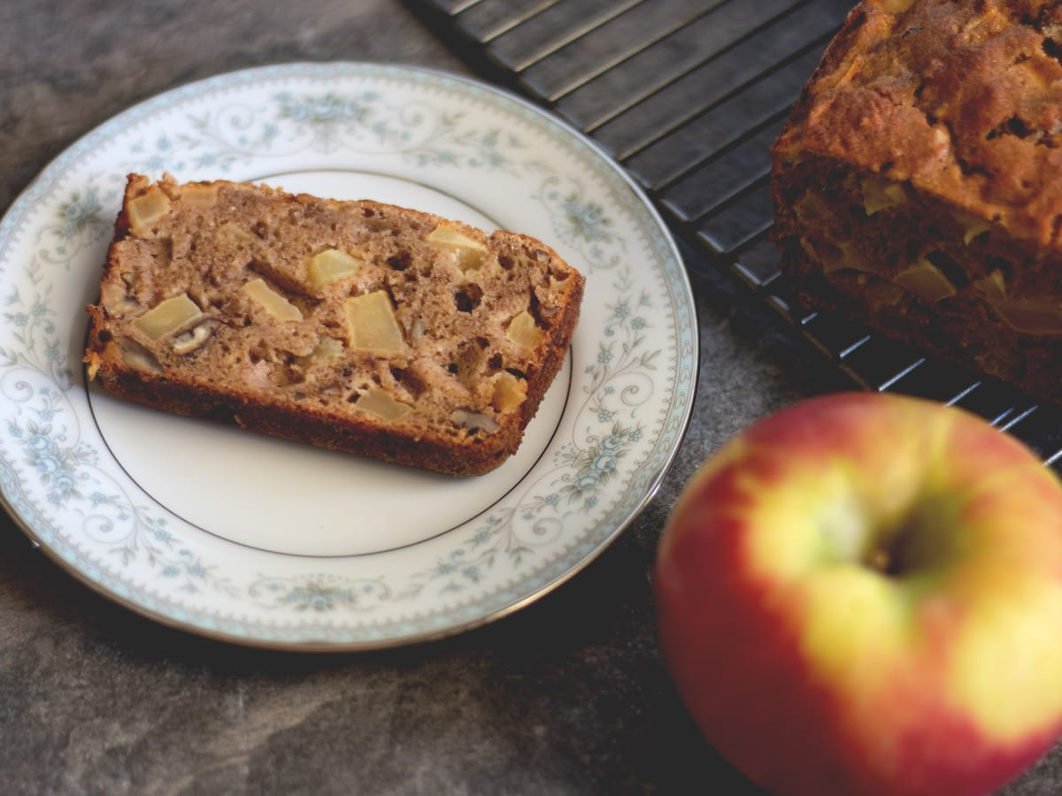 Paleo Apple Pecan Bread from Cosmopolitan Cornbread