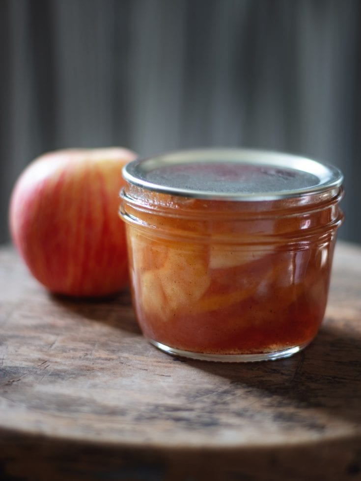 Spiced Apple Preserves