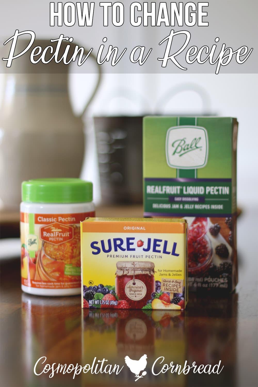 How to Substitute Powdered Pectin for Liquid Pectin in a Recipe | Cosmopolitan Cornbread
