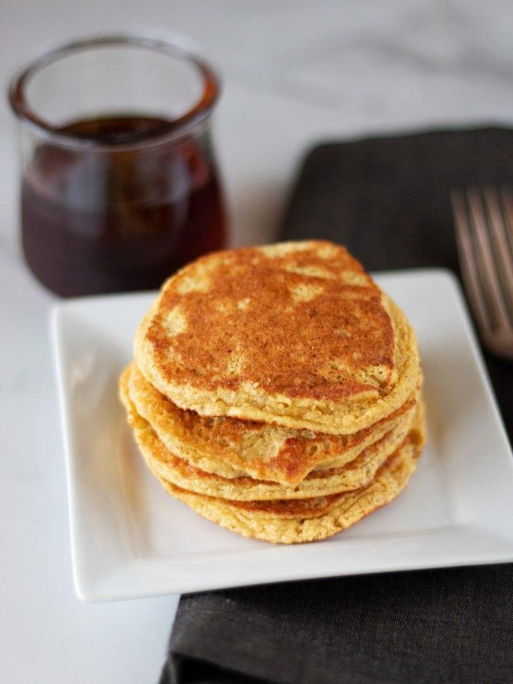 Paleo Banana Bread Pancakes