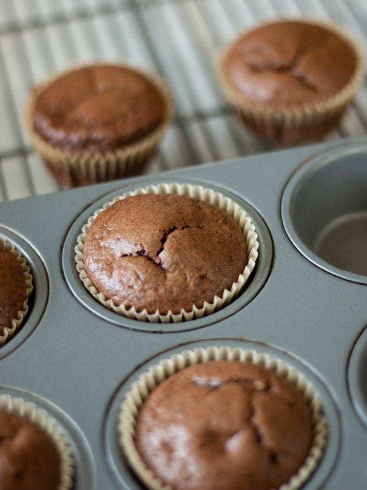 The Best Flourless Chocolate Muffins