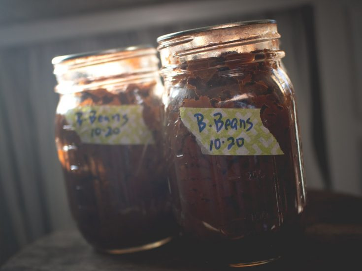 Canning your own homemade baked beans is pretty easy to do, and the flavor is so much better than store-bought!