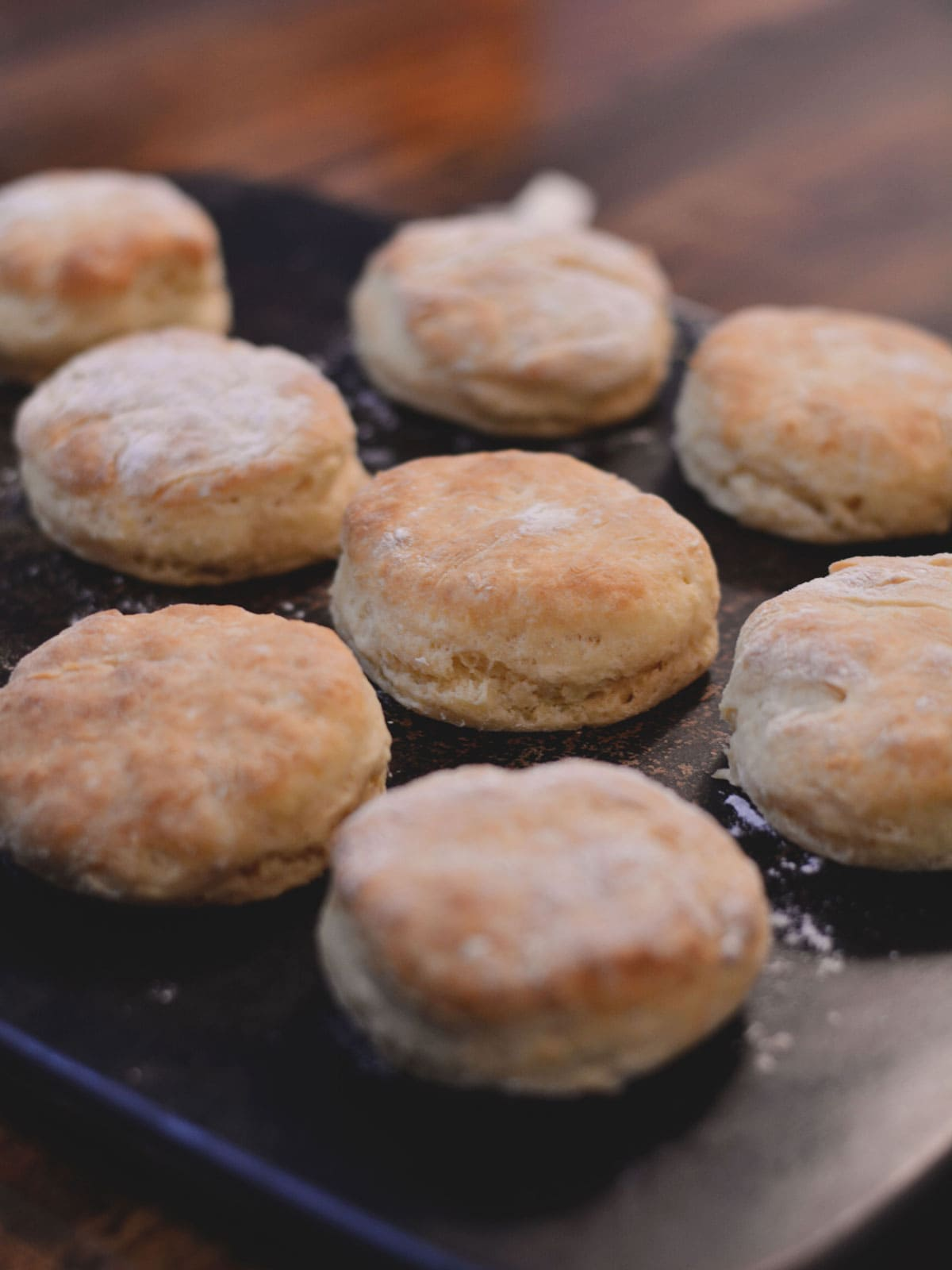 Classic Baking Soda Biscuits, made from scratch - with how-to cooking video.