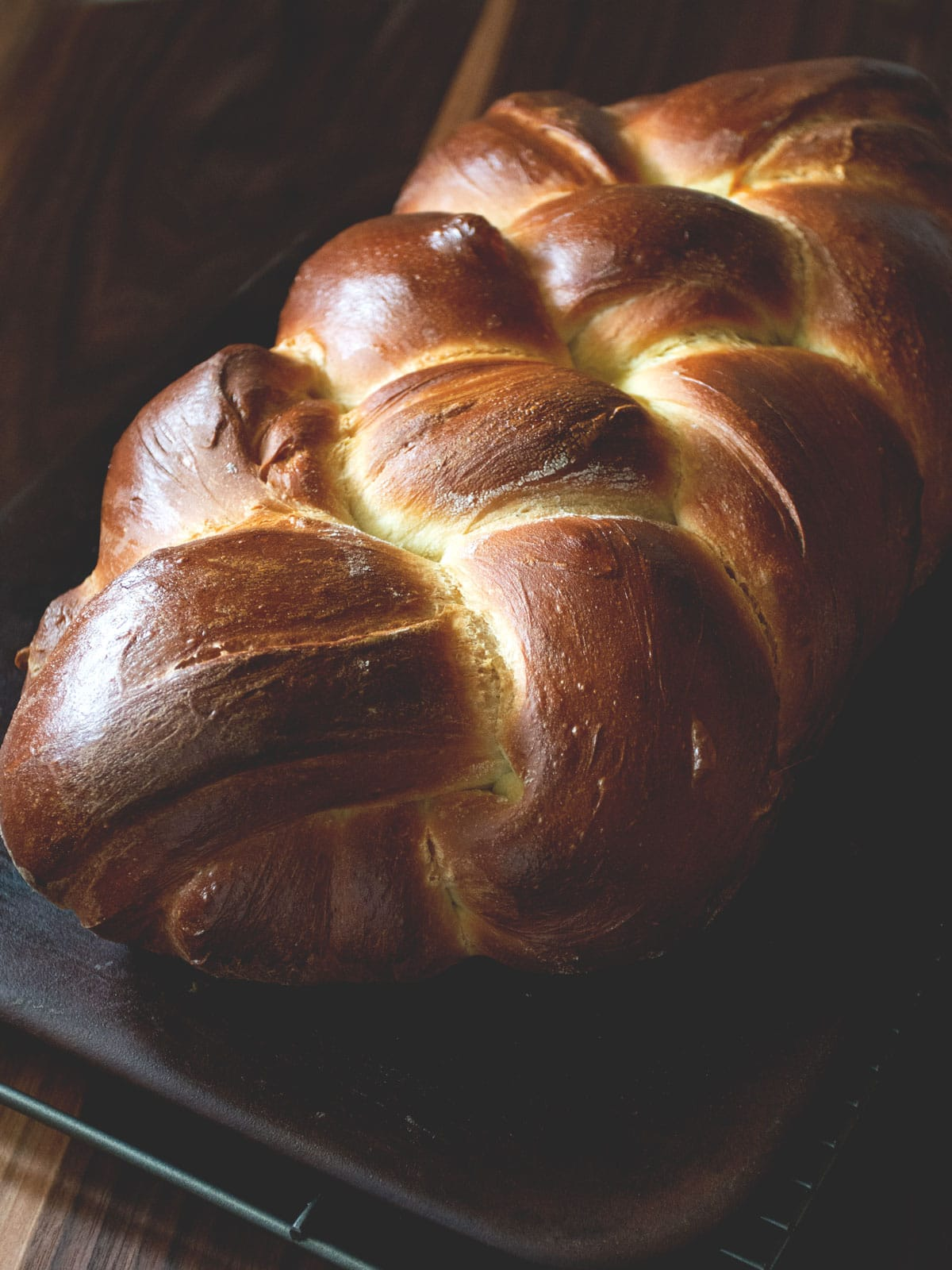 Challah is a beautifully braided, and slightly sweet bread. It uses simple, and basic ingredients. While it looks impressive, it is quite simple to make. Get the recipe and watch a tutorial video from Cosmopolitan Cornbread.