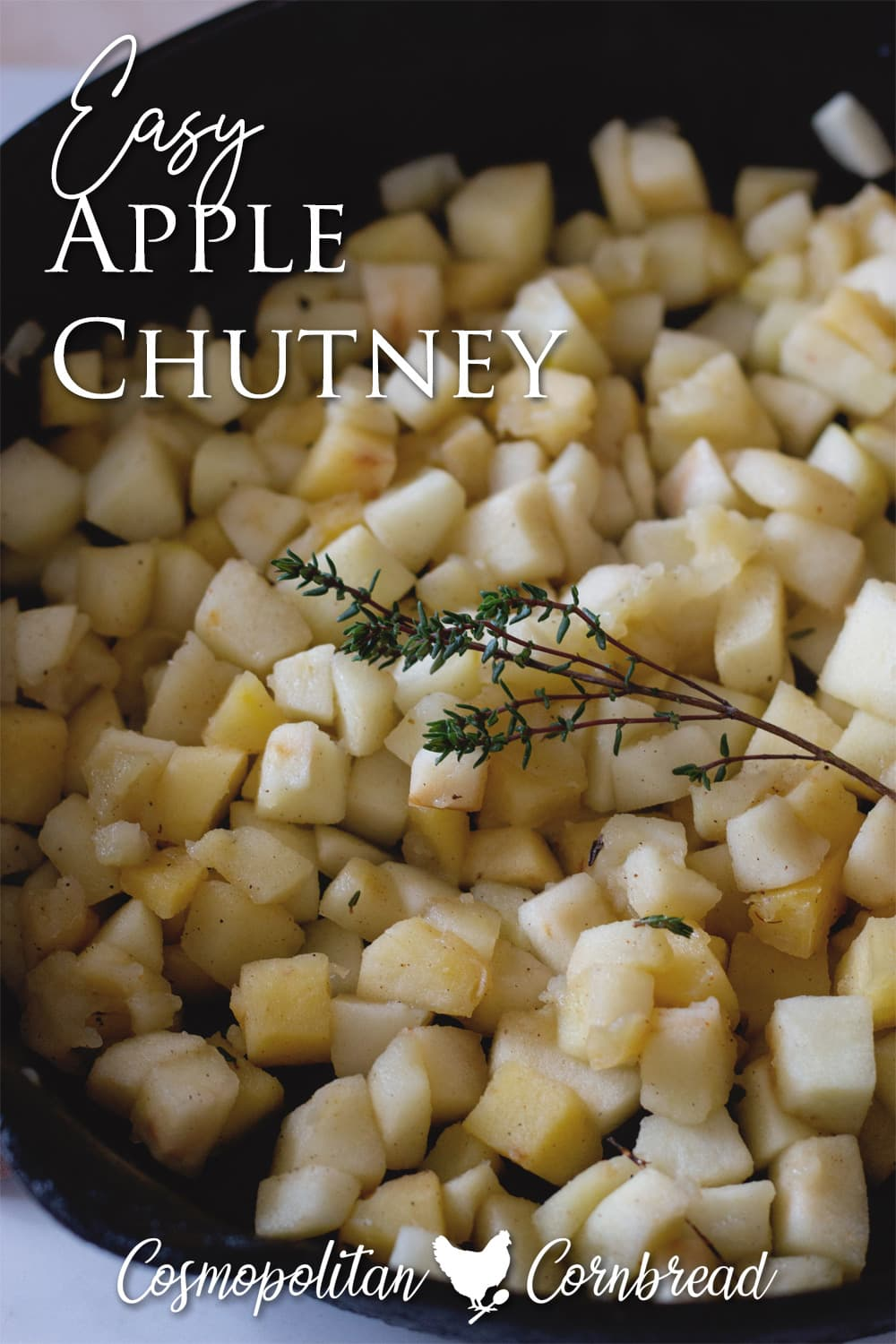 How to Make Quick Apple Chutney - Apple Chutney is a wonderful, spiced apple topping that is perfect for serving with or on meats.