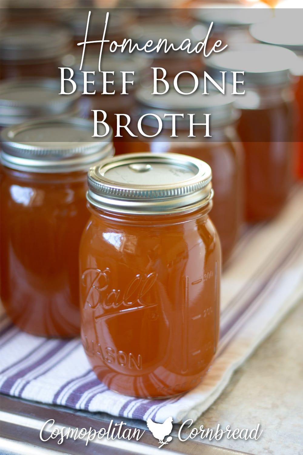 Making your own homemade Beef Bone Broth is an amazing way to add healthy, and delicious flavor to your recipes.