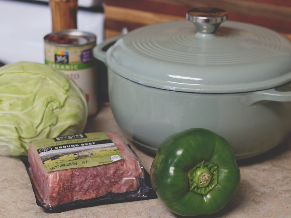 cabbage roll soup ingredients