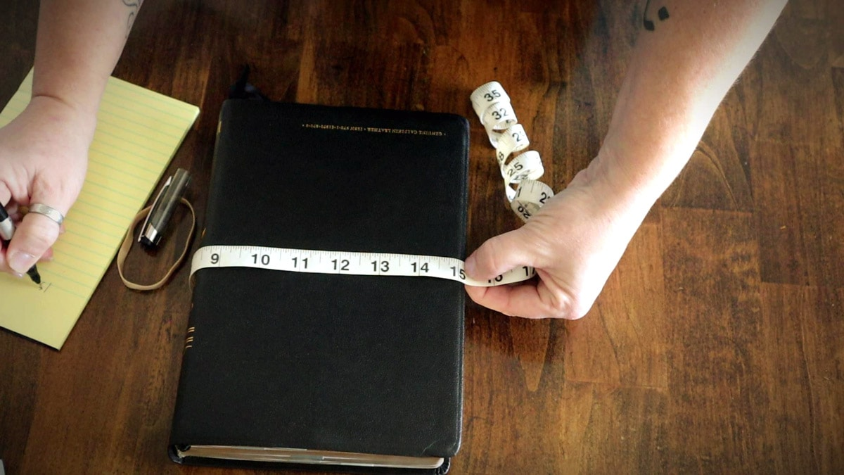 measuring the bible