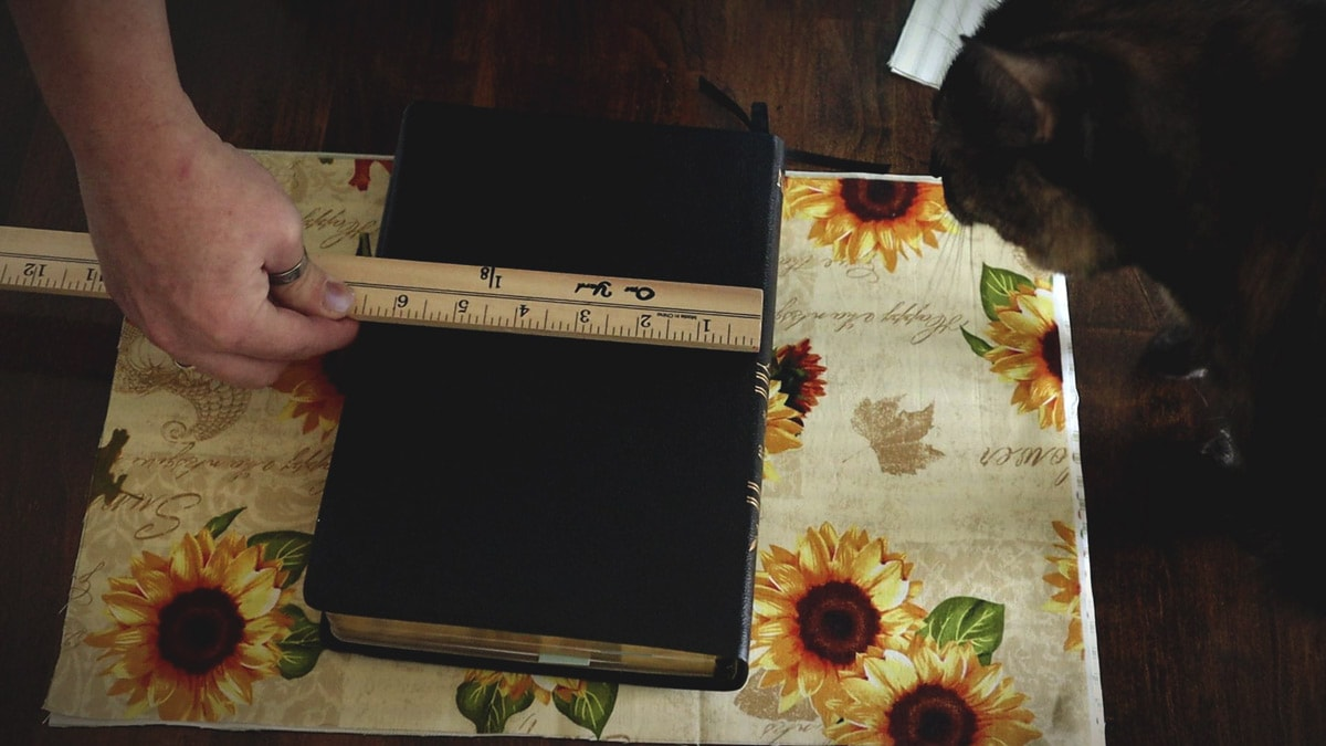 measuring the bible width