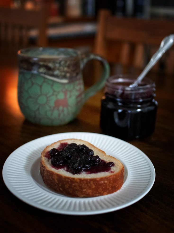 Bourbon Blueberry Jam