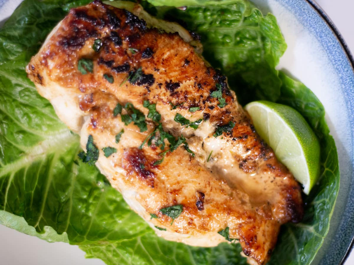 This Easy Lime Skillet Chicken recipe is a perfect weeknight dinner with minimal prep, healthy, and tons of great flavor.