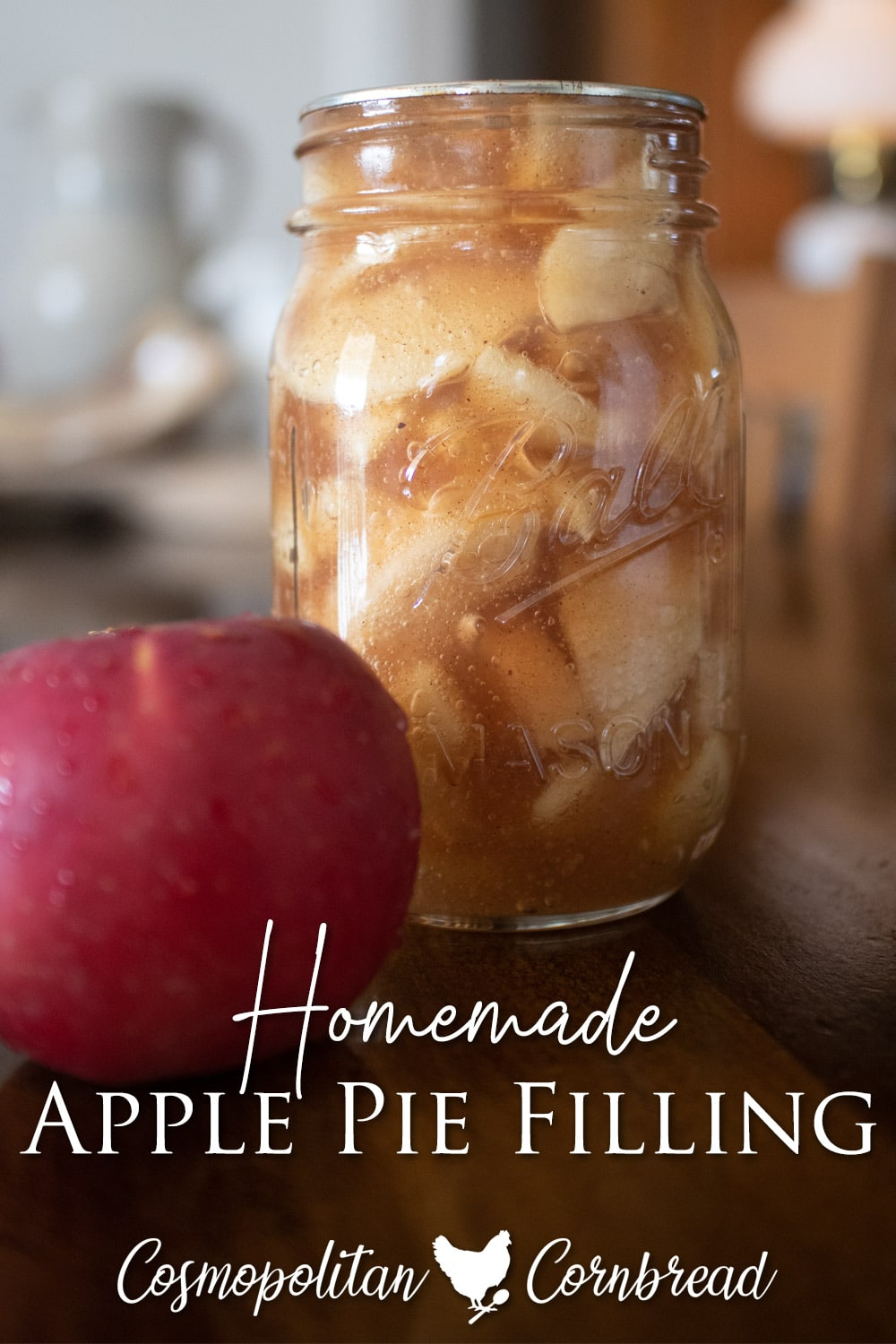 Homemade Apple Pie Filling is simple to make and a great shortcut for treats and desserts, right from your pantry.