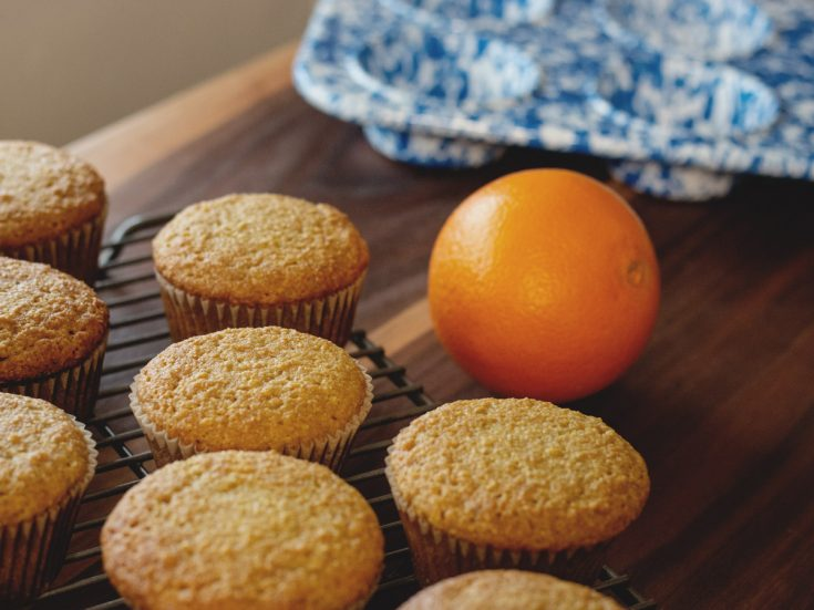 Paleo Orange Muffins