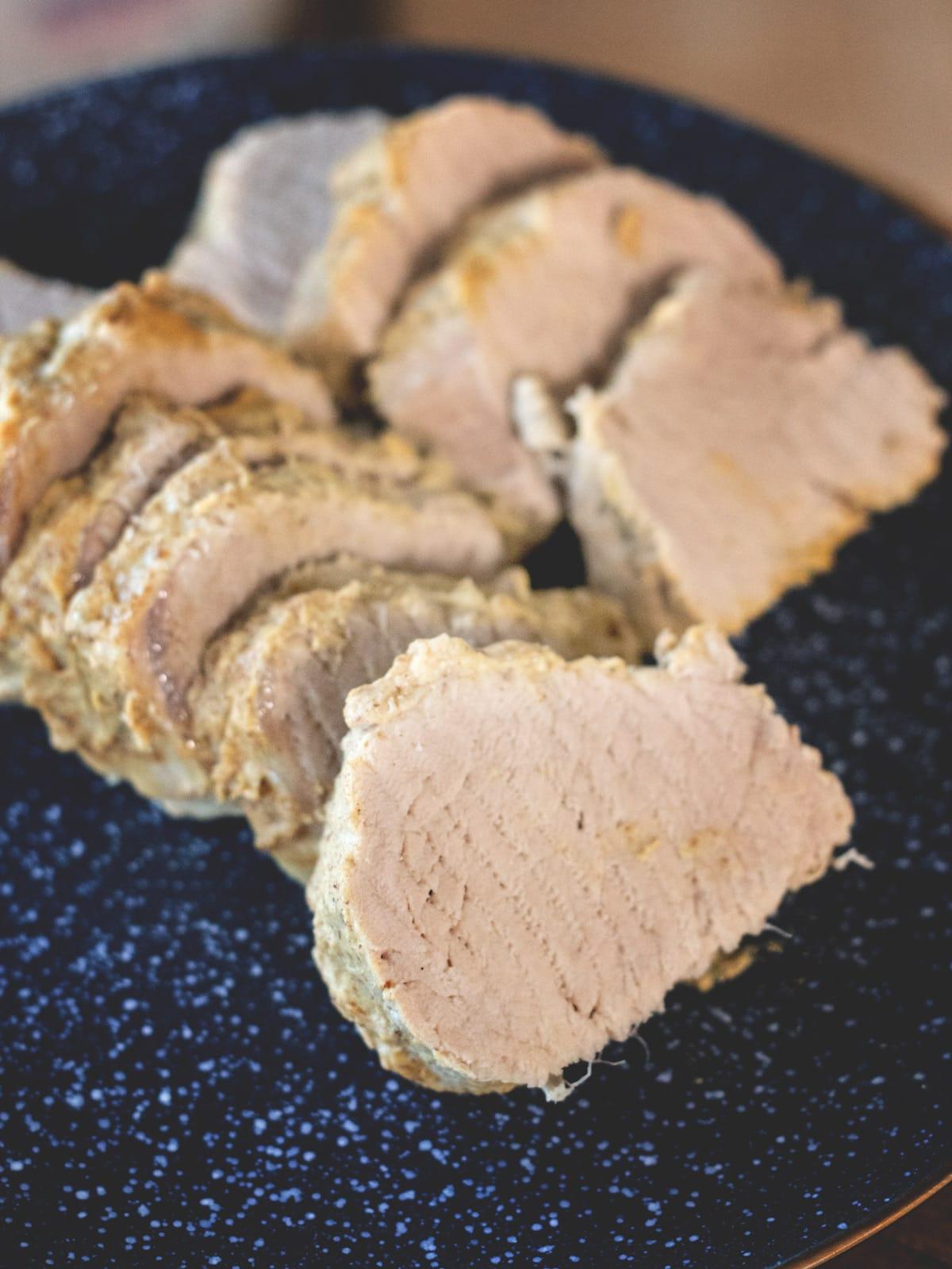 Honey Mustard Pork Tenderloin in an Instant Pot
