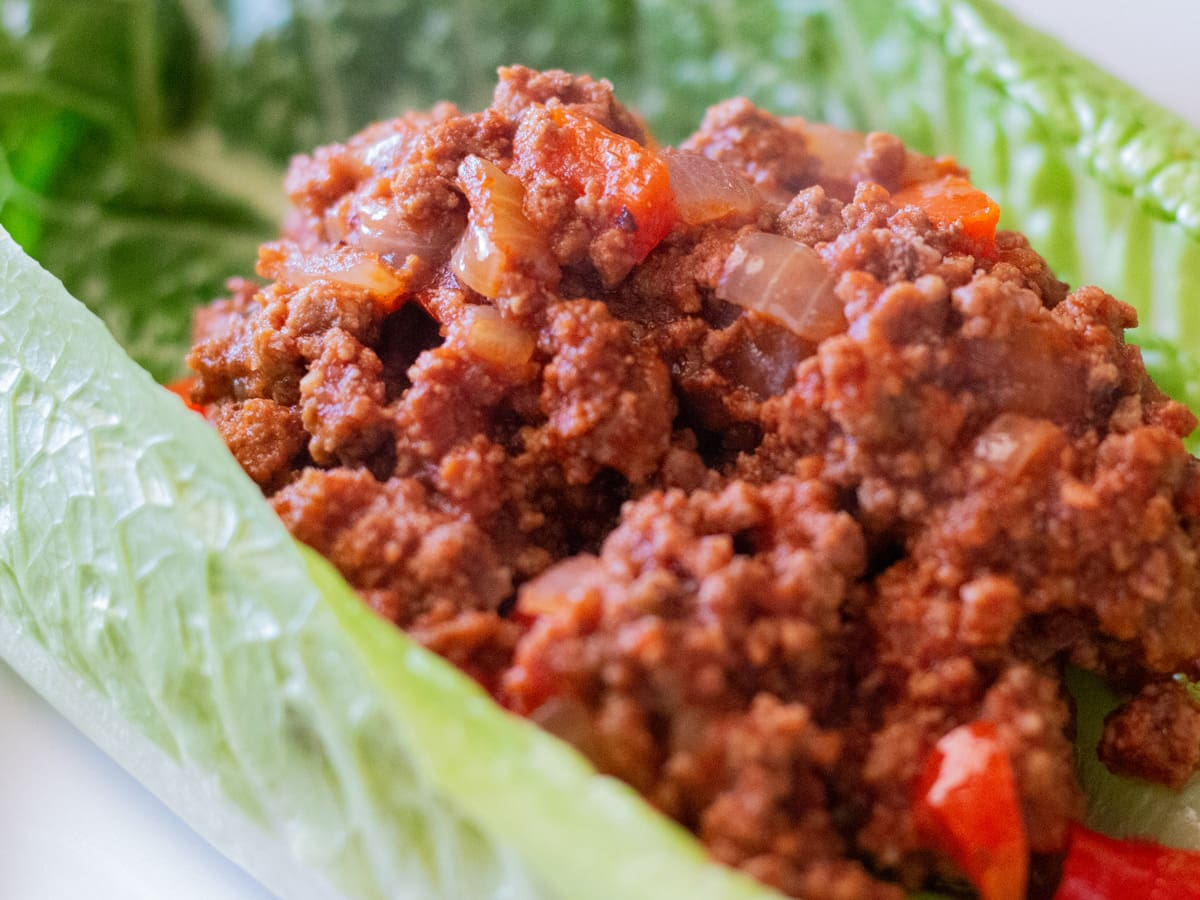 Making your own homemade Sloppy Joe mixture is super easy to do and so delicious!