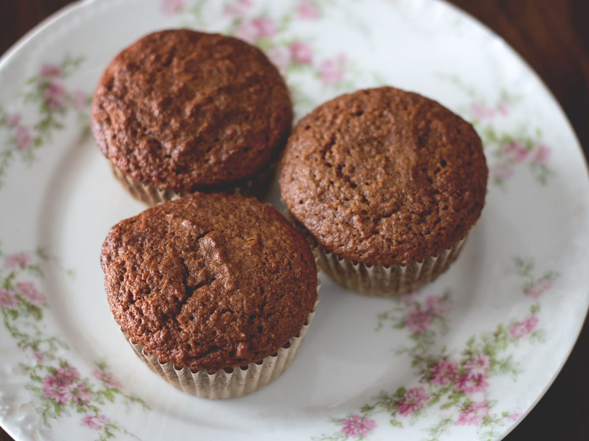 These delicious and warmly spiced gingerbread muffins are a wonderful way to start your day - great for breakfast or a snack!