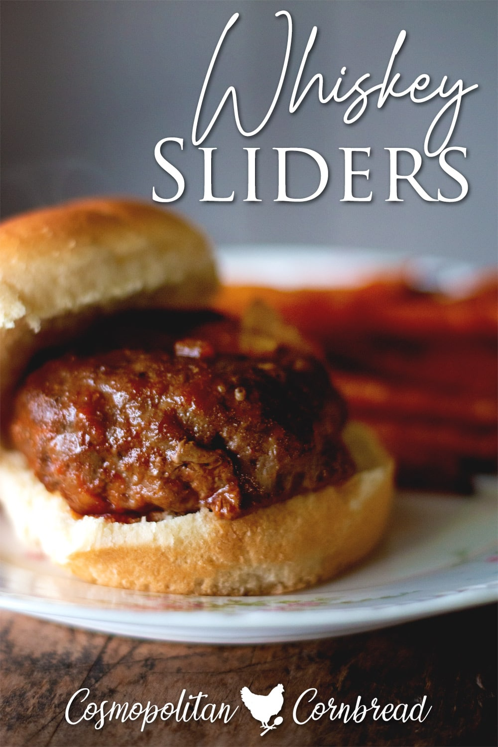 """These delicious Whiskey Sliders are easy to make and perfect for a dinner or """"heavy"""" appetizer."""
