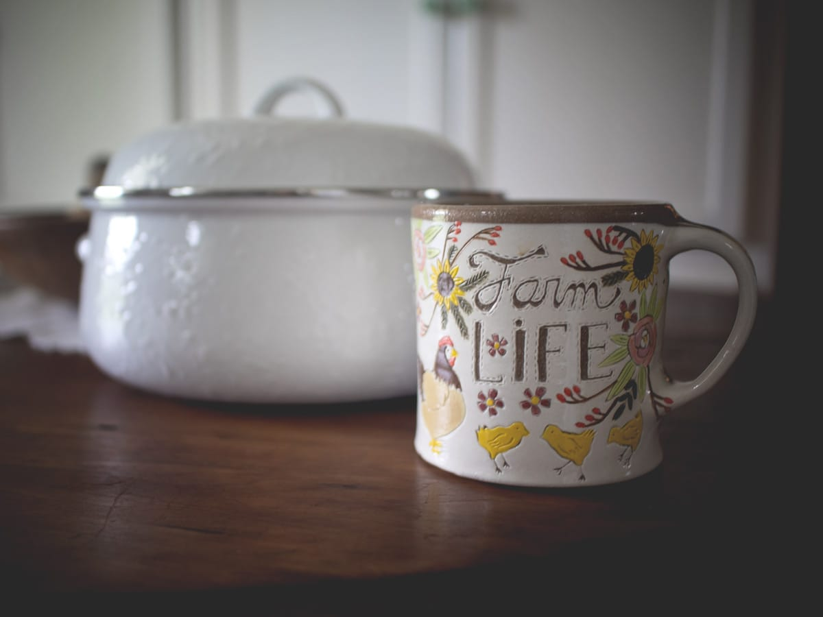 Today I shared some of my recent purchases from the Mercantile Store that I like to visit, as well as some of the handmade pottery I ordered.