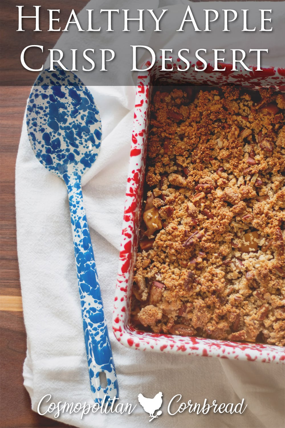 Warm and tasty seasoned baked apples with a crumb topping.