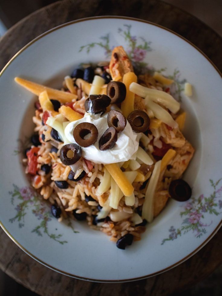 A little spice & a little rice in this warm and inviting Tex-Mex dinner. This is a great weeknight meal, as it doesn't take long to make.