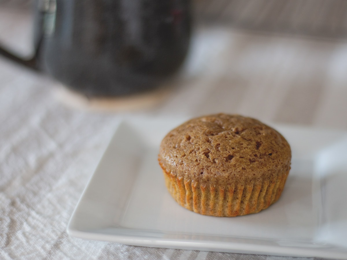 These healthy Cinnamon Spice Muffins have a wonderful, warm flavor that the whole family loves.
