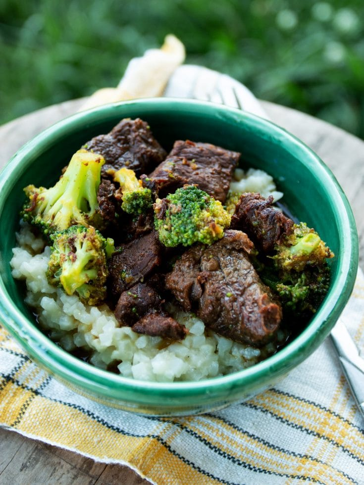 Low Carb Beef & Broccoli