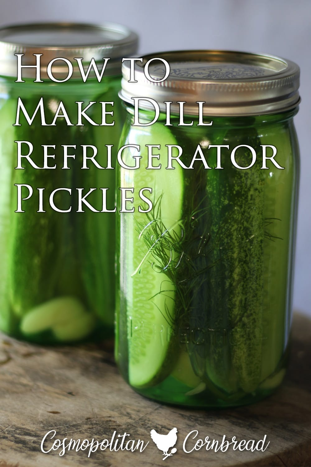 Making refrigerator pickles is the easiest way to enjoy homemade pickles, as there is no canning involved.