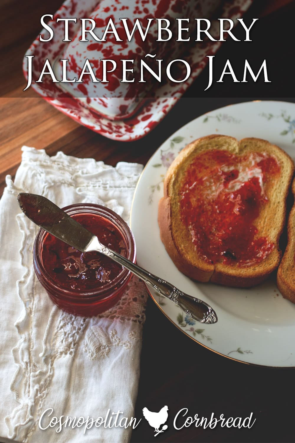 You'll decide very quickly that this Strawberry Jalapeño Jam is the best jam you have ever tasted. Seriously.