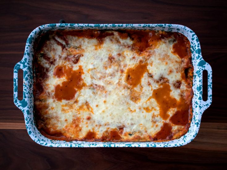 Eggplant Lasagna - The BEST Eggplant Recipe!   If you've ever wondered what to make with eggplant, this lasagna recipe is the one!