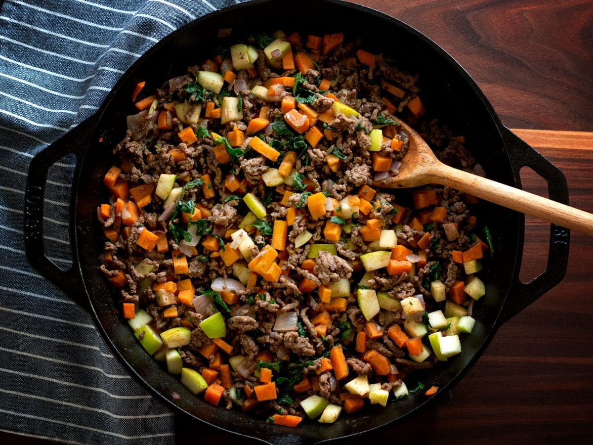 """Beef & Sweet Potato Dinner 