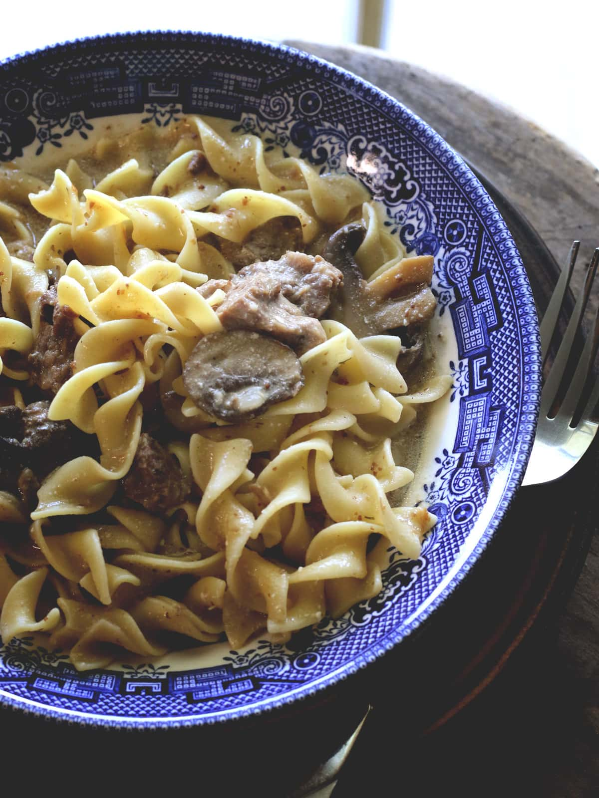 All of the great flavor of Beef Stroganoff made in your Instant Pot. Quick, simple and delicious.