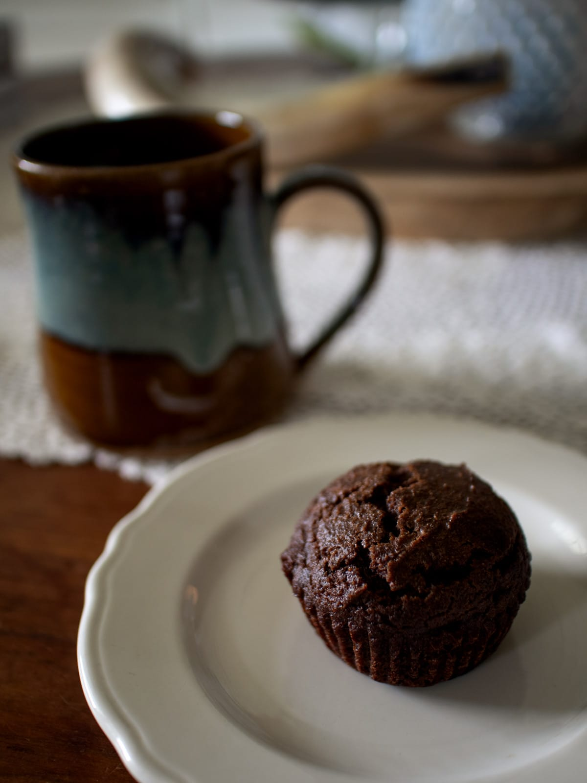Cranberry Chocolate Muffins - These delicious muffins are dotted with dried cranberries and filled with rich, chocolate flavor.