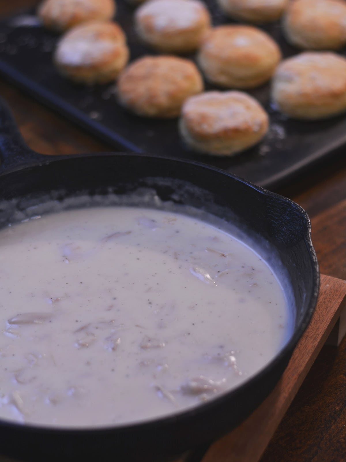 There are times when the most simple of recipes is simply the best. This Creamed Turkey on biscuits is one of those very recipes.