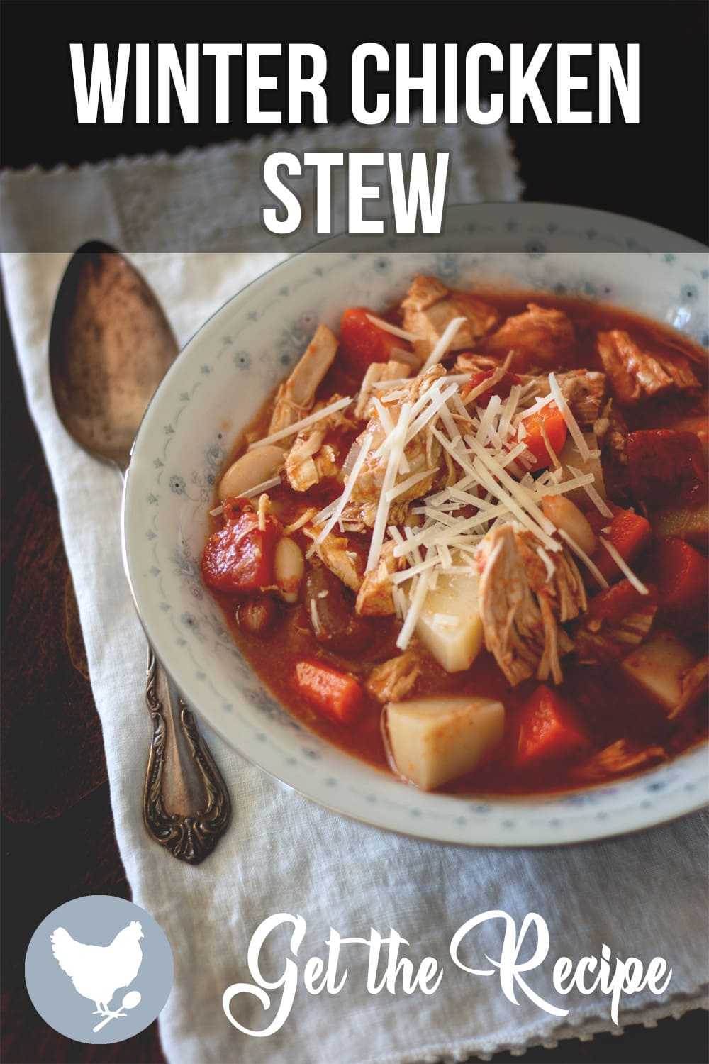 This is no ordinary chicken soup. The ingredients in this Winter Chicken Stew are so substantial, there's barely enough room for them in the pot.